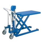 Superlow Floor Lift Truck Foot-operated Table Type