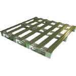 Light Pallet, Steel, Single Sided, Four-Way Insertion