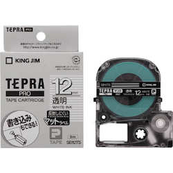 Tepra PRO Tape Cartridge Matte Label Type / White Letters