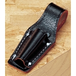 Black Split Leather 7 Inches Pliers Holder