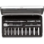 Deep socket wrench set (hex type / 6.3 mm Insertion Angle)