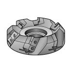 MSE45-SF Type Face Mill (Easy Blade Vibration Adjustment) Holder