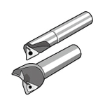 Aluminum Processing End Mill, MEAL Type (for aluminum processing: with coolant hole)