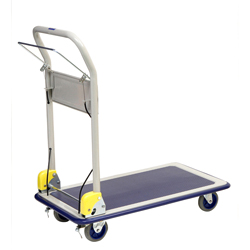 Cart with hand brake