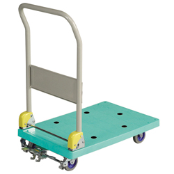 Small Resin Dolly with Foot Brake
