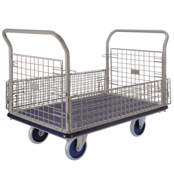 Over Sized Steel Cart Double-sided Opening / Closing Type