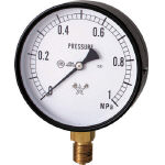 General Purpose Pressure Gauge (A Frame Vertical Type / Diameter ø100)