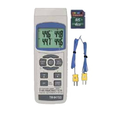 SD Card Datalogger Digital Thermometer TM-947SD