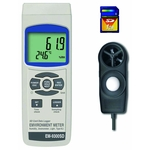 SD Card Data Log Type Digital Multi Environment Measuring Device