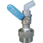Single action oil fill plug stop valve SUS type mounting opening φ40 (diameter 40 mm) solvents only type