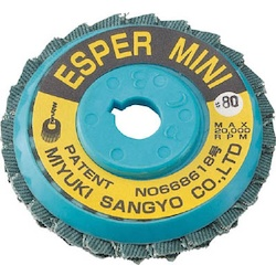 Disc Paper - Esper Mini Zirconia (for Stainless Steel / Difficult-To-Cut Materials)