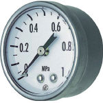 Small Pressure Gauge (D Frame Embedded type / ⌀40) GK25-161-0.7MP