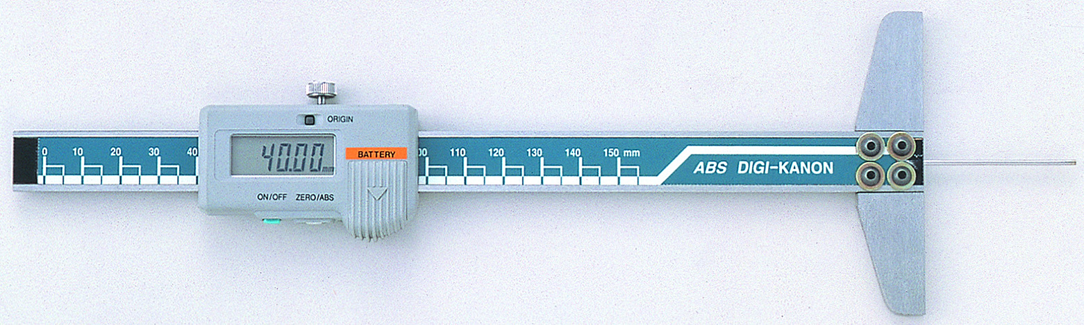 Digital Narrow Hole Depth Gauge