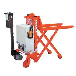 Hand Pallet Truck Self-Propelled Type High Catch