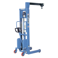 Jib crane type power lifter
