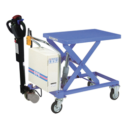 Self-Propelled Lift Table Caddy