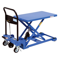 Hand-operated Lift Table Caddy, Low to the Floor Type