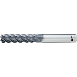 Uneven Lead End Mill (5 Flutes, Long Type) for Machining FX Coated Titanium Alloy