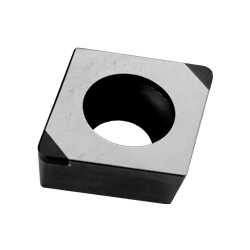 CBN Insert for Hardened Steel Processing with Rhomboid Hole 55°DCGW