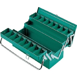 RSD Top-Class Box 3 Level Box with Tubular Handles