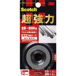 Scotch Extra-Strong Double Sided Tape, Metal / General Material-Use