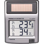 Solar Digital Thermometer and Hygrometer