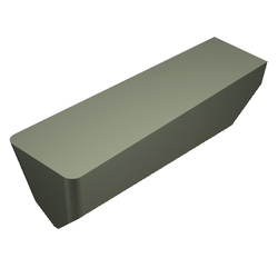 T-Max Ceramic Insert For Grooving And Profiling Heat-Resistant Alloy And High Hardness Material