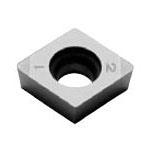 SUMIBORON Insert, 80° Diamond-Shape With Hole, Positive 7°, 2NC-CCGW