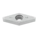 SUMIBORON Insert, 35° Diamond-Shape With Hole, 5° Positive, 2NC-VBGW