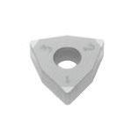 SUMIBORON Insert, Hexagon-Shape With Hole, Negative, 6NC-WNGA