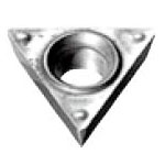 Triangle-Shape With Hole, Positive 11°, TPMT-SF, For Light To Medium Cutting