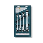 Swivel Neck Offset Gear Wrench Set (4-Piece Set) 34564