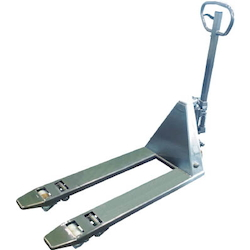 Hand-Operated Pallet Truck (Stainless Steel) Low Platform