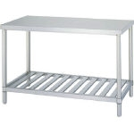 Stainless Steel Workbench, Drainboard Type, SUS430 Uniform Load (kg) 250