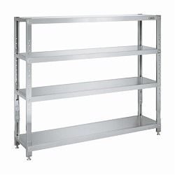 Stainless Steel Sakae Rack (Height-Adjustable Type)