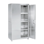 Stainless Steel Storage Double Door Type Frontage (mm) 900/ 1200