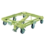 Freely Rotating Dolly, Ultra-Heavy Weight Type, with Central Base