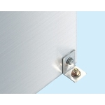 Stainless Steel Storage Unit - Optional Floor Fixing Brackets