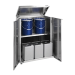 Stainless Steel 18 L Drum Storage