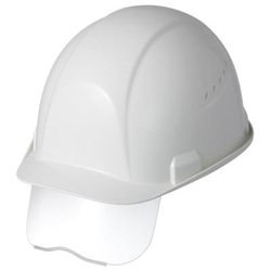 Helmet SAXC Type (With Ventilation Holes / Shield Surface / Raindrop Prevention Mechanism / Shock Absorbing Liner) SAXCS-B