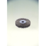 SUS304 Stainless Steel Press Wheel Brush