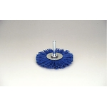 Wheel Brush with Grit Shaft, with Abrasive Grain #180