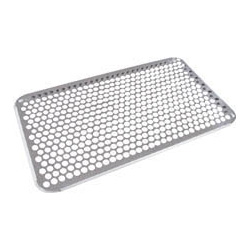 18-8 School Lunch Tray Carriage Type (without Hole Type) Lid / Punching Drainboard