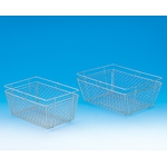 Wash Basket SS Type Square 34X26X16 cmH/30X20X16 cmH