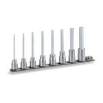 Long Hexagonal Socket Set (with Holder) HH308L