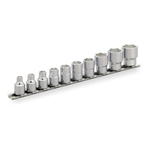 Socket Set (hex, with Holder) HS310