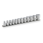 Socket Set (6-point, with Holder) HSB312