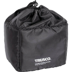 Waterproof tarpaulin bag with cushioned interior