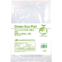 Industrial Green Eco Plastic Bag, Transparent 600 mm x 500 mm – 1200 mm x 1000 mm