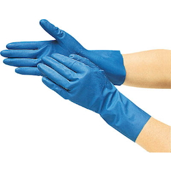 Oil Resistant Solvent, Nitrile Thin Gloves, Size S